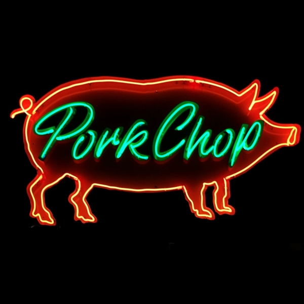 Pork Chop オリジナルネオンサイン 雑貨 アパレル