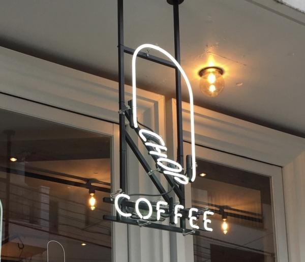 原宿コーヒーショップ ネオン看板 オリジナルネオンサイン