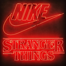 NIKE STRANGER THINGS オリジナルネオンサイン