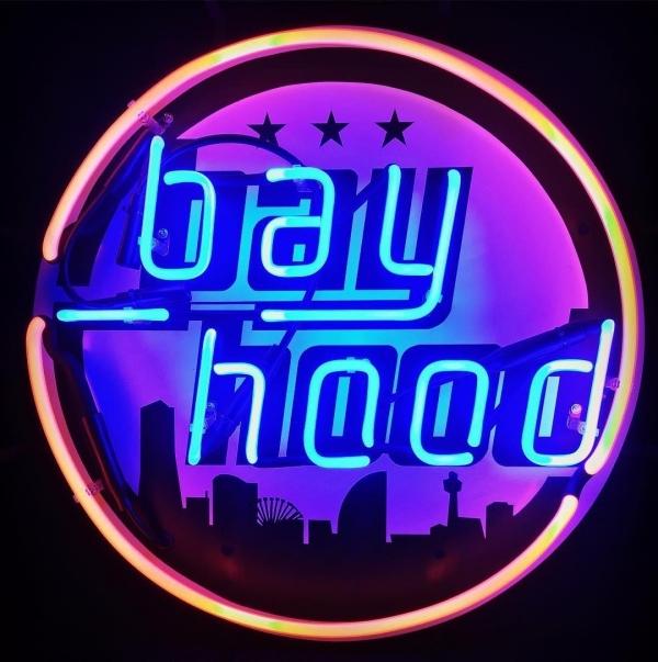 bay hood オリジナルネオンサイン 職人 ネオン管