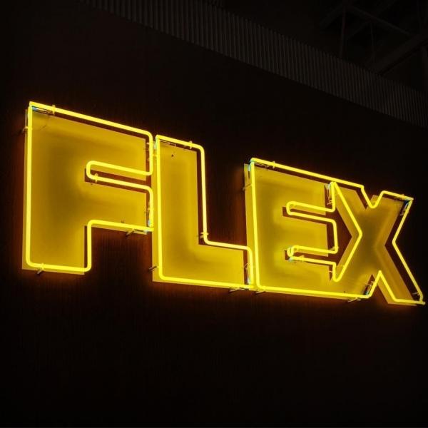 FLEX イベント用オリジナルネオンサイン