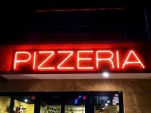 ピザ屋 オリジナルネオンサイン 赤