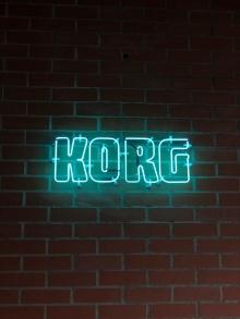 KORG オリジナルネオンサイン