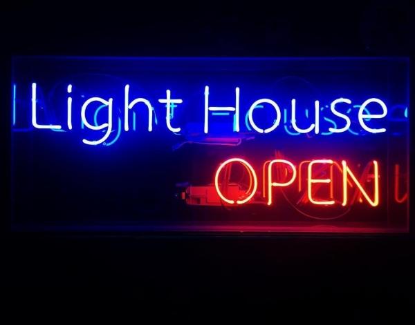 Light House アパレル オリジナルネオンサイン