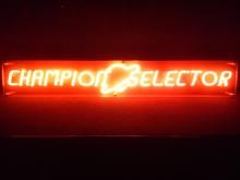 CHAMPION SELECTOR オリジナル ネオン管